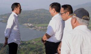 Jokowi Ingin Kecantikan Danau Toba Mendunia