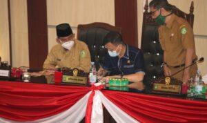 DPRD Gelar Rapat Paripurna Pengusulan Pengesahan Pengangkatan Walikota & Wakil Walikota Medan
