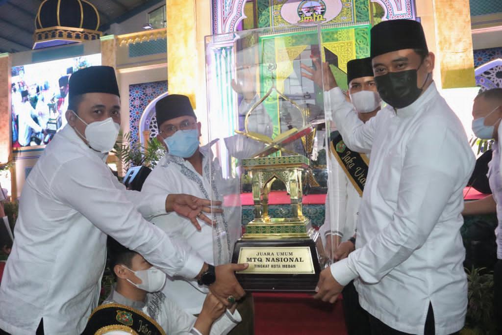 Walikota Tutup MTQN ke-54, Medan Barat Raih Juara Umum