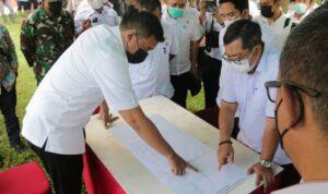 Walikota Medan Tinjau Aliran Sungai Bedera